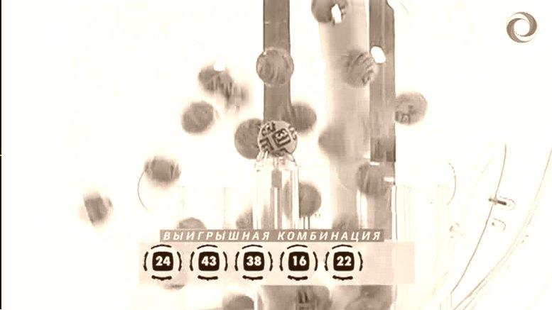 Таблицу розыграша Астраханской Лотереи за октябрь