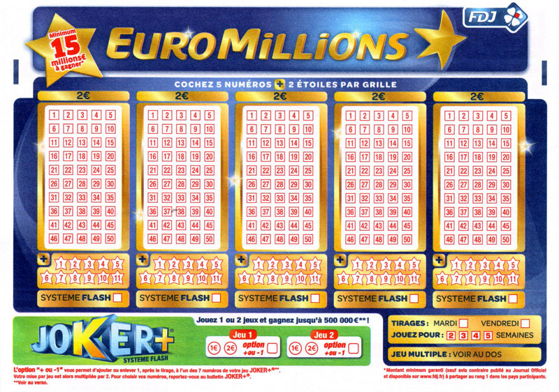 """Европейская лотерея """"EuroMillions"""" (ЕвроМиллионы)"""